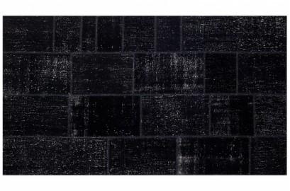 Tapis Artisanal d'Anatolie Noir 300cm