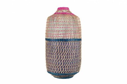 Multicolor Bamboo Vase II