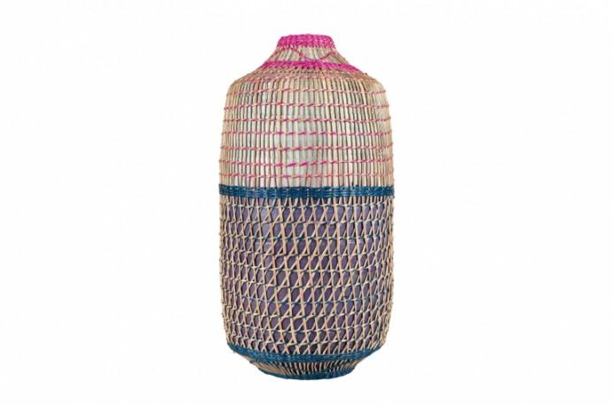 Vases Bambou Multicolore