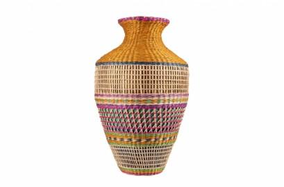 Multicolor Bamboo Vase III