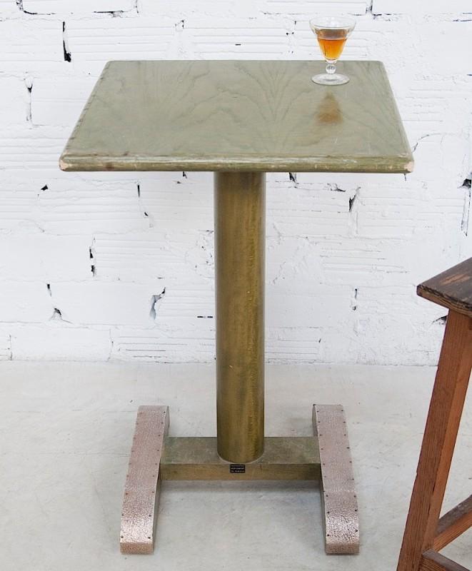 table gu ridon bistrot vintage ann es 70 pi ce unique authentique. Black Bedroom Furniture Sets. Home Design Ideas
