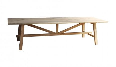 Table en Chêne Massif Atelier Sur Mesure
