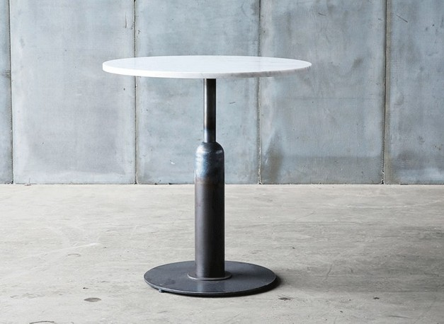 Table-Guéridon Piston  marbre