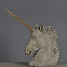 Statue, Tête de Licorne