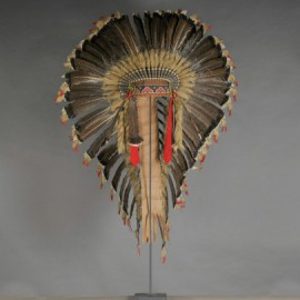Grande Coiffe de chef Sioux