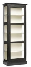 Bibliothèque-Vitrine Maggie - H 212cm
