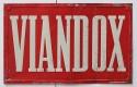 "Plaque publicitaire ""Viandox"""