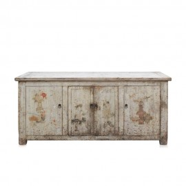 """Old Chinese Buffet """"Dahlias"""" - 160 cm"""