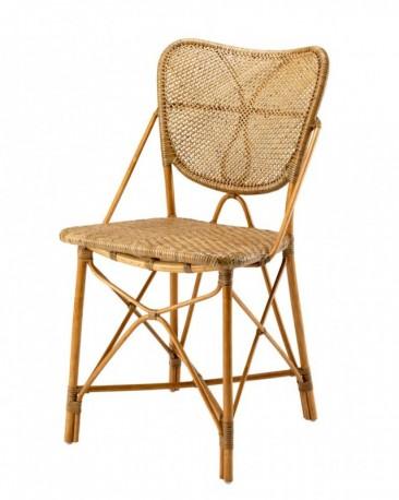 Chaise en rotin canné Flore