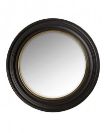 Witch Mirror ø75cm, Black & Gold