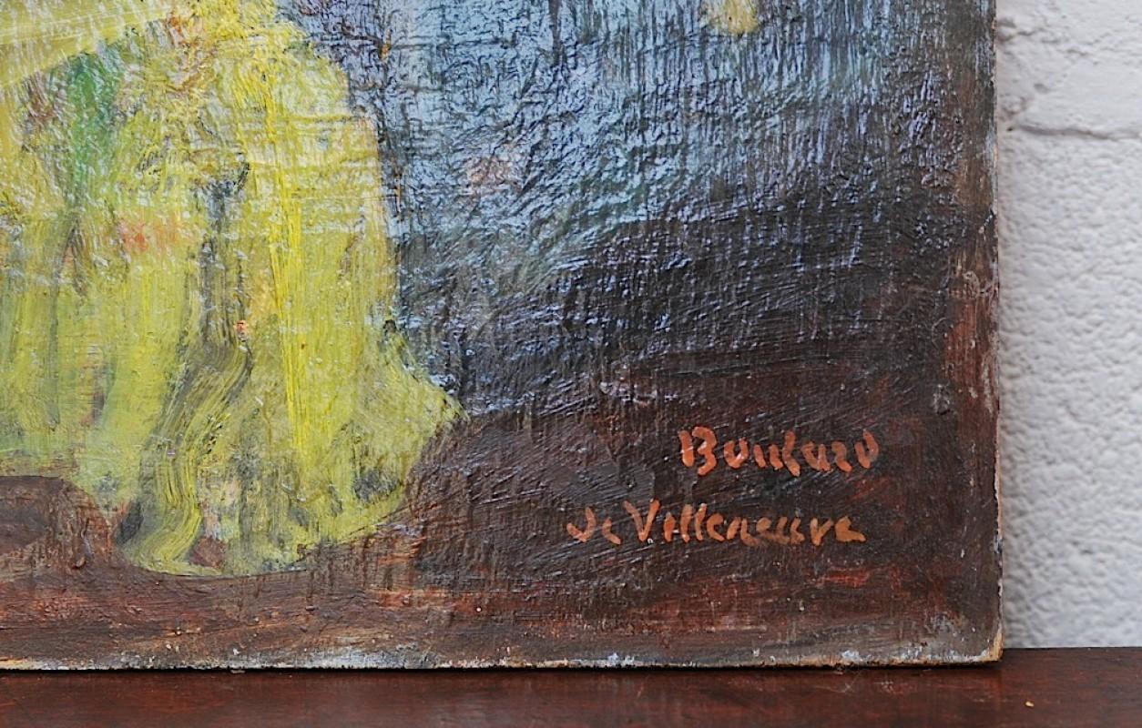 peinture sur toile ancienne tableaux anciens nu f minin ancien huile sur bois boulard de. Black Bedroom Furniture Sets. Home Design Ideas