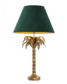 Lampe Palmier Abat Jour Velours H114,5cm