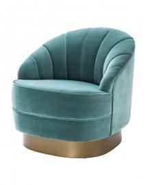 Blue Celadon Armchair Lizzie