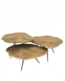 Tables Basses Pan, Set de 3