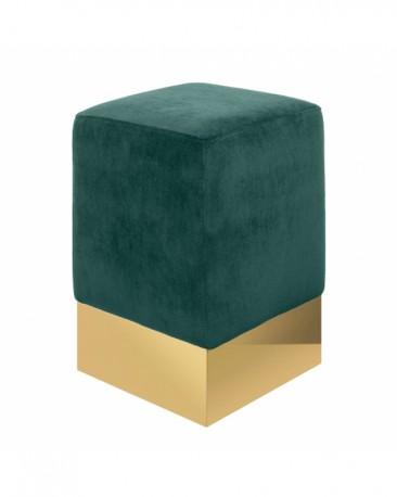 Green Sauge Velvet Stool