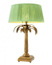 Large Palmyre Lamp Made of Brass