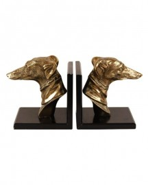 Bookends Greyhound Heads