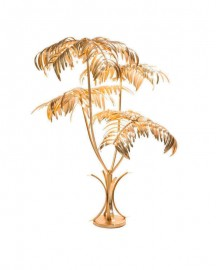 Floor Lamp Foliage Made in Brass