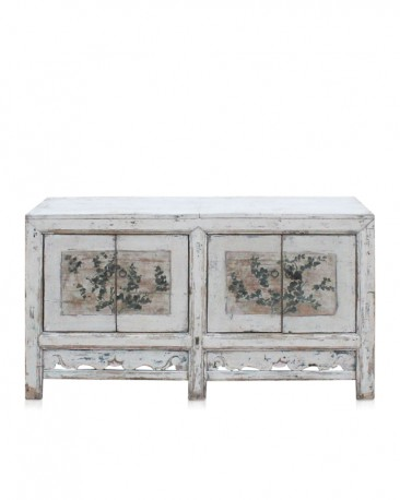 Antique Floral Sideboard