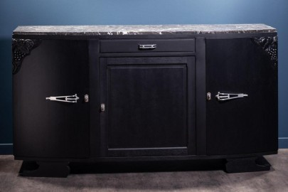 50's Sideboard Black Finish