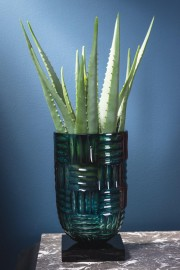 Blue and Green 40's Vase