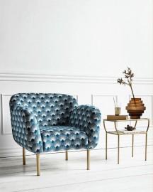 Blue Armchair Gigi