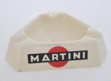 Cendrier Martini en Porcelaine - VENDU