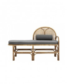 Bench in Rattan Mistinguette