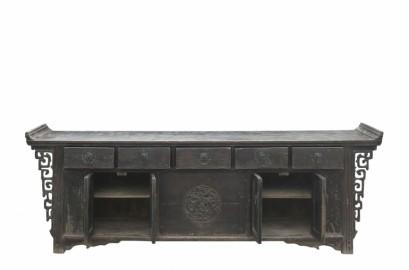 Antique XXL Sideboard in Elm L280cm