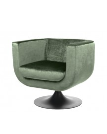 Velvet Armchair 70s Goldwyn Made To Order