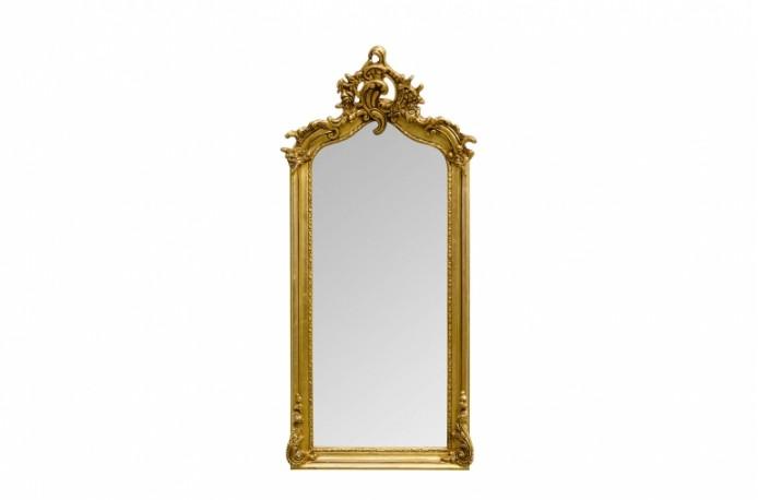 "Miroir ""Abondance"" doré"