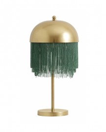 Table Lamp with Fringes