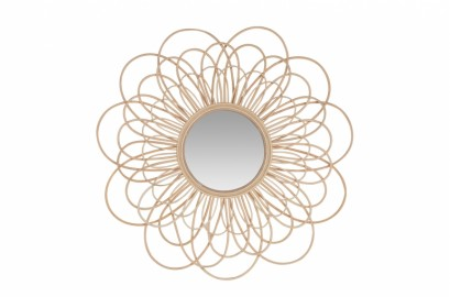Miroir Soleil Style Vintage ø85cm