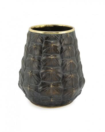 Turtle Vase in Resin