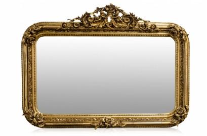 Golden Baroque Style Mirror