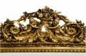Miroir baroque doré