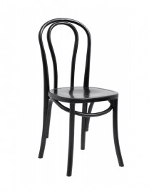Chaise Bistrot Noire Germaine