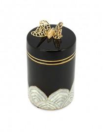 Coffret en Céramique, Papillon et Sélénite