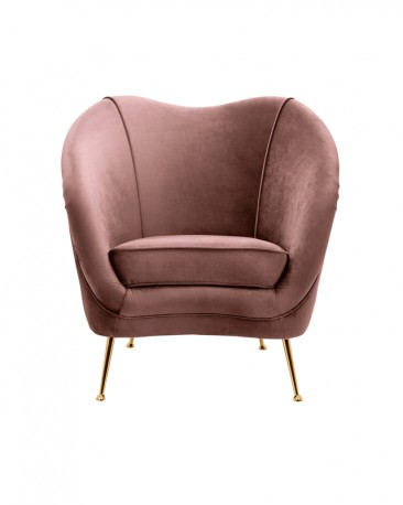 Andy Armchair Powder Pink