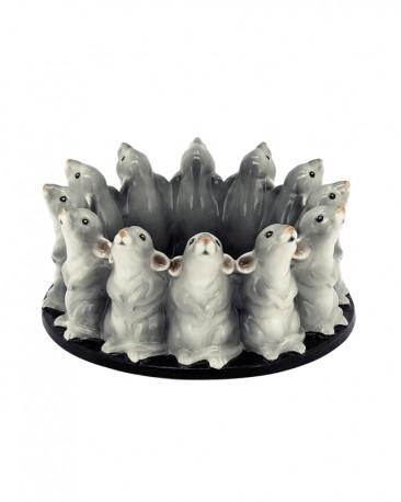 Porcelain Bowl Hummingbird