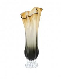 Vase en Verre Drapé Effluve - H60cm