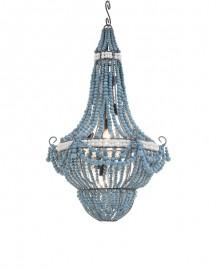 Lustre Perles Terre Cuite Flibuste H80cm