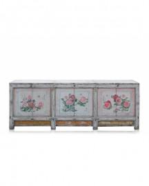Antique Floral Sideboard