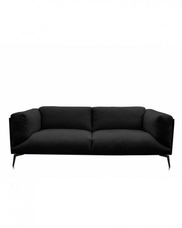 Roger Sofa - Black Linen