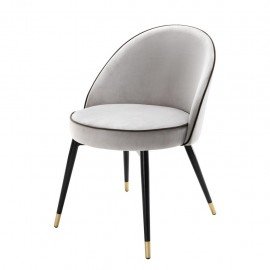 Dining Chair Pearly White Bradley