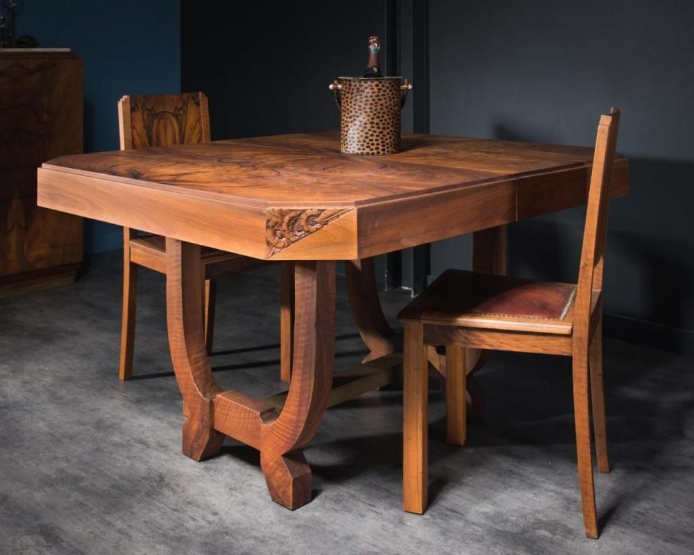 Art Deco Farm Table 1930 30s