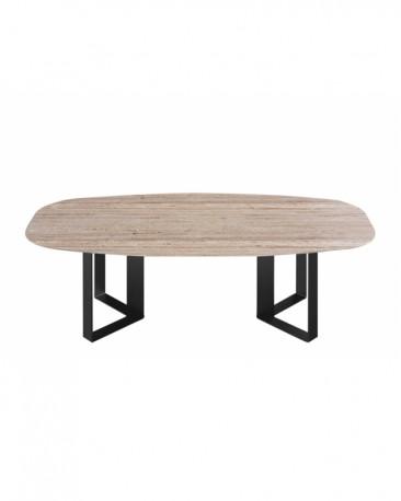 Table Milano 230 cm en Travertine  - Sur Commande
