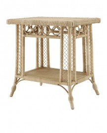 Side Table in Natural Rattan