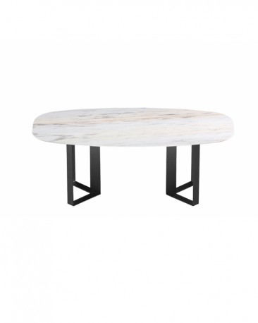 Milano Dining Table Natural Stone, Made To Order