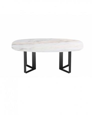Table de repas Milano 200cm,  Marbre Estremoz  - Sur Commande